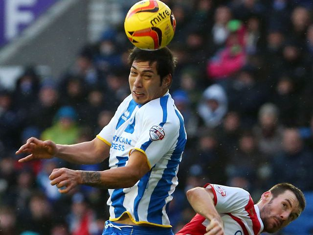 Leonardo Ulloa: Missed a penalty for Brighton