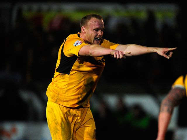 Lee Minshull: Rescued a point for the Exiles