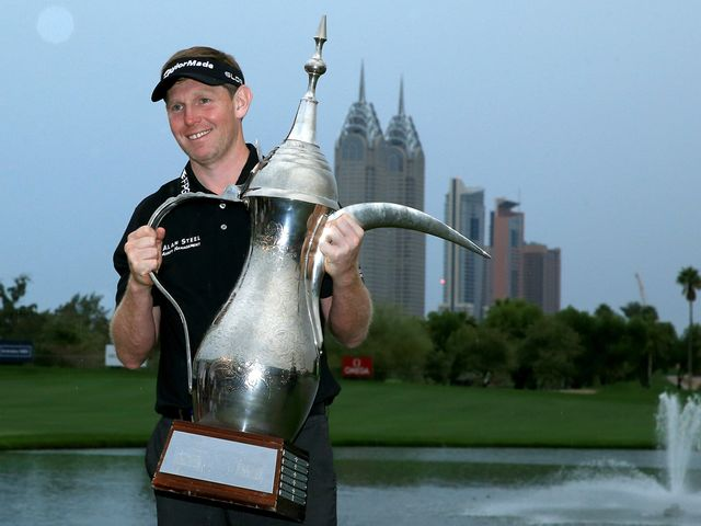 Stephen Gallacher: Recovered from front-nine struggles to win