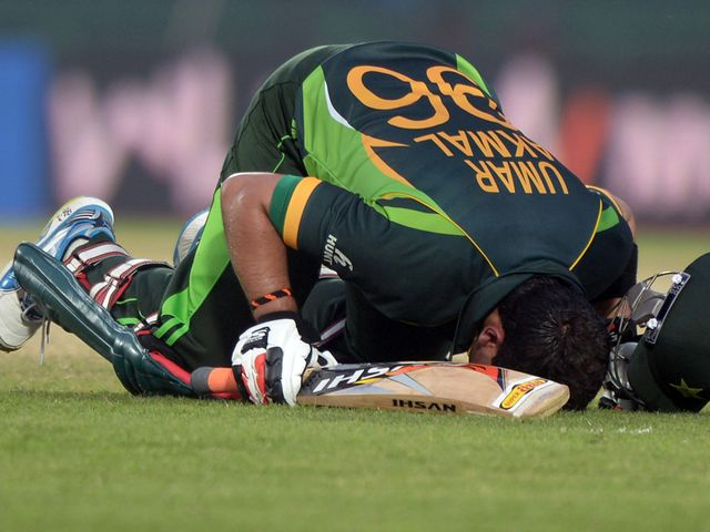 Umar Akmal: Rescued Pakistan with a sparkling 102