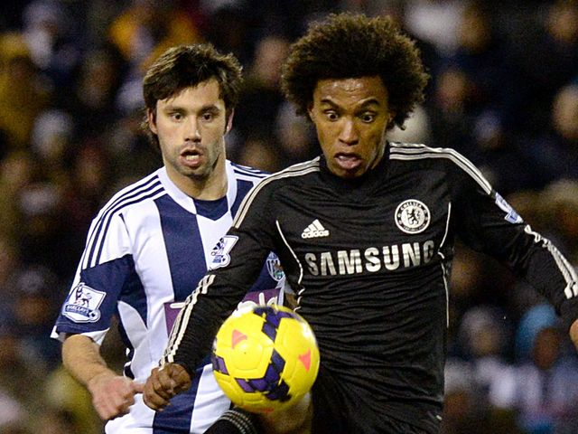 Willian looks to get forward for Chelsea