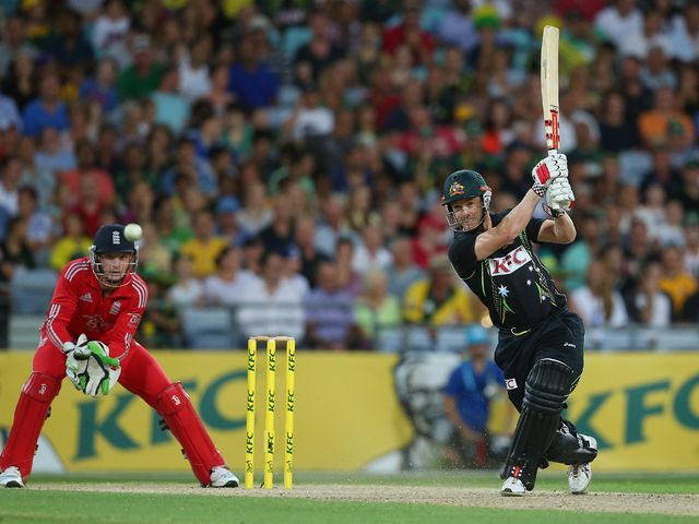 Bailey hits out during his fine innings
