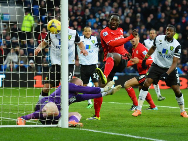 Kenwyne Jones scores for Cardiff
