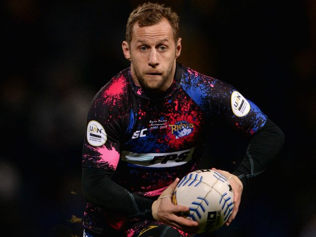 Rob Burrow: Two tries for Leeds