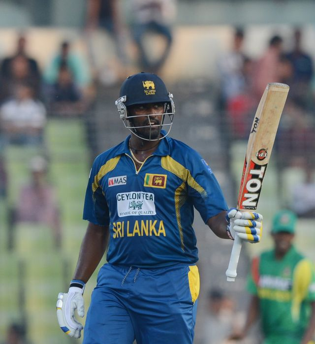 Thisara Perera: Sri Lanka all-rounder reached his half-century from 40 balls