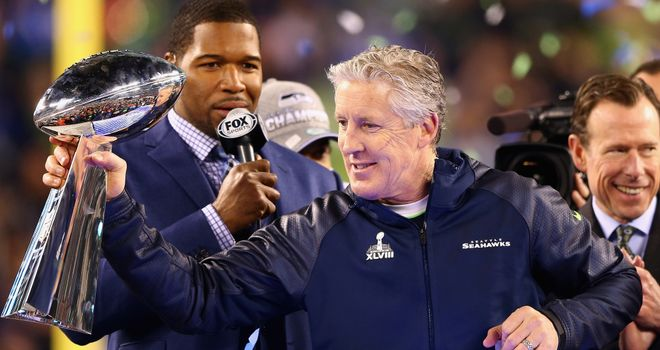 Pete Carroll: Extended contract at Seattle