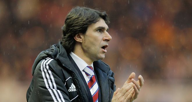 Aitor Karanka: Wants to push on with Middlesbrough