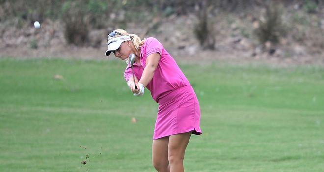 Anna Nordqvist has a handy advantage in Thailand
