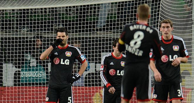 More woe for Leverkusen