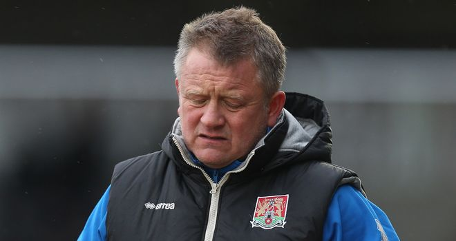 Chris Wilder: Not happy with his side