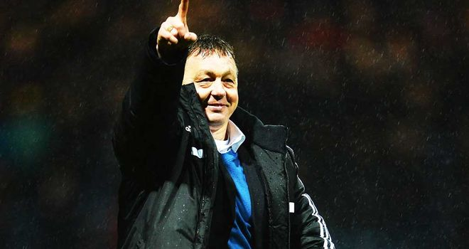 Billy Davies: Nottingham Forest boss reckons his team were lucky