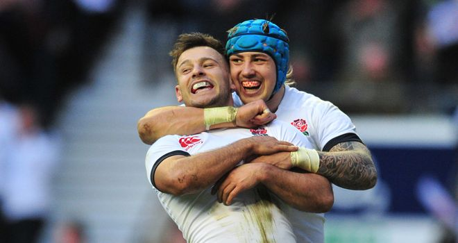 Jack Nowell and Danny Care are ready for Welsh hostility
