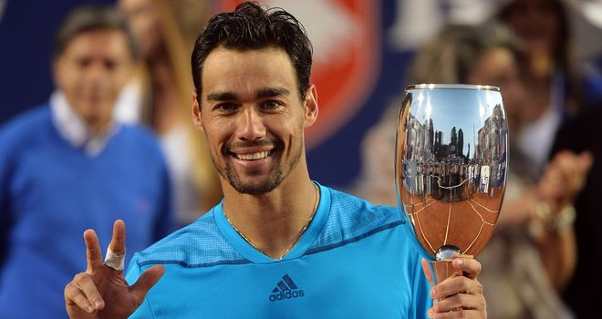 Fabio Fognini: The Italian outclassed Leonardo Mayer in Chile
