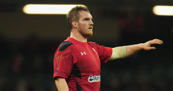 Gethin Jenkins: Ready for physical battle