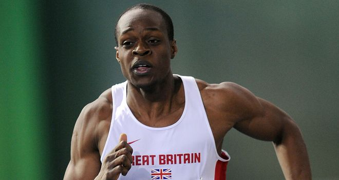 James Dasaolu: Injury concern for British sprinter