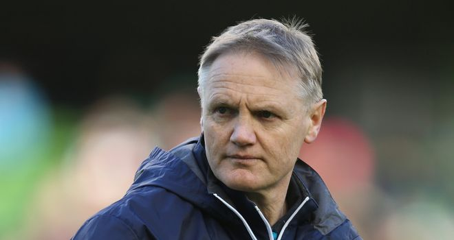 Joe Schmidt: now fully focused on Italy game