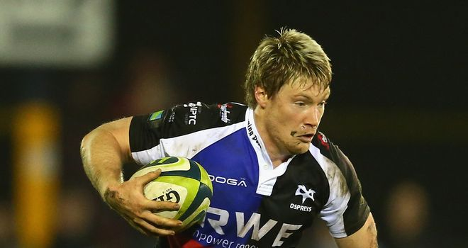 Jonathan Spratt: Committed to Ospreys until end of 2015/16 season