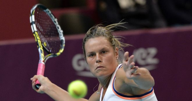 Karin Knapp claimed the decisive third point for Italy