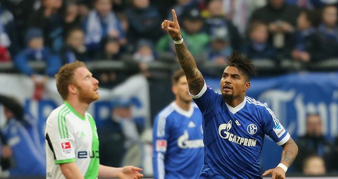 Kevin-Prince Boateng gave Schalke the lead