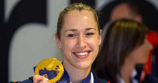 Lizzy Yarnold: Polled 57% of the vote