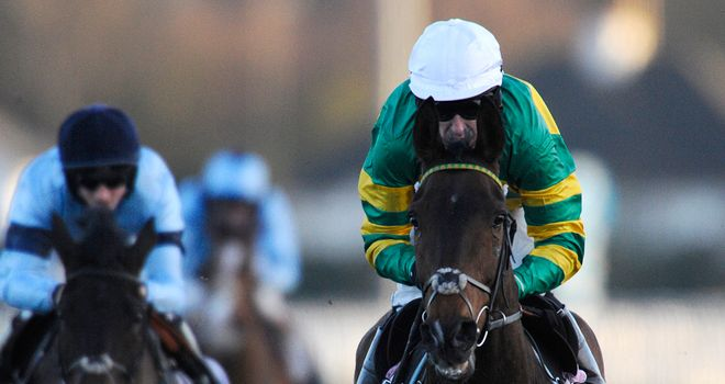 My Tent Or Yours: Will be ridden by Tony McCoy at Cheltenham
