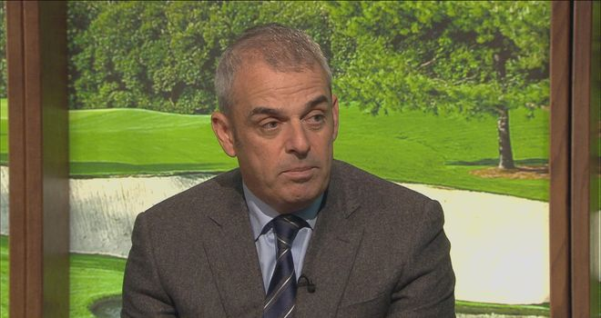 Paul McGinley: Hoping to face Tiger Woods in Ryder Cup