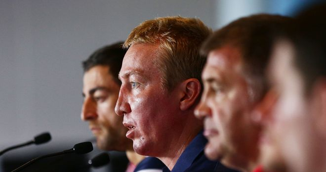 Trent Robinson: Believes Australia should help support the game in England and France