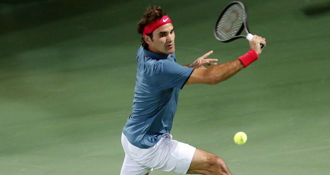 Roger Federer: Rolled back the years to defeat Novak Djokovic in Dubai