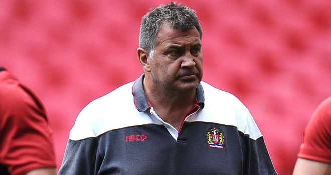 Shaun Wane: Hoping to see an improvement from his side against Hull KR on Friday