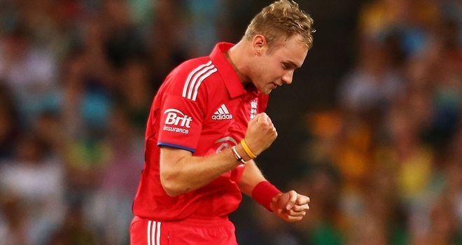 Stuart Broad will lead England's bid for World T20 glory