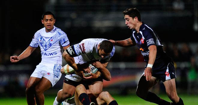 Tony Gigot: French international joins London Broncos