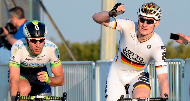 Andre Greipel claimed his third win of the season