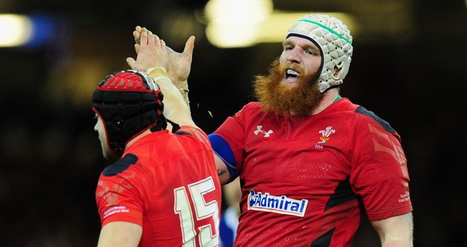 Jake Ball (right): Returns to the Scarlets' ranks