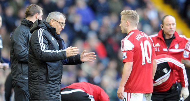 Felix Magath can draw consolation from his side's performance despite West Brom's late goal