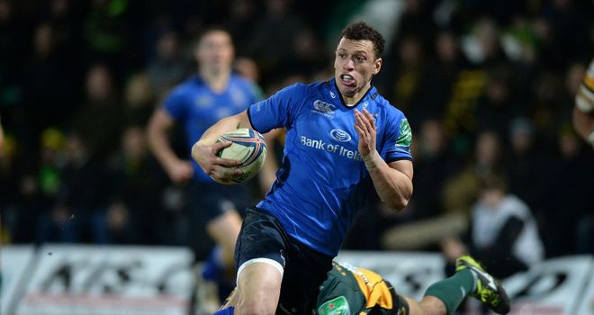 Zane Kirchner: Starts for Leinster against Ospreys