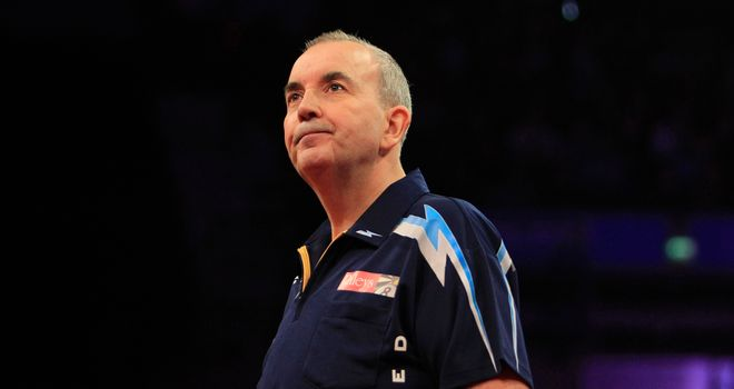 Phil Taylor: tough opener last week, but he bounced back at the weekend