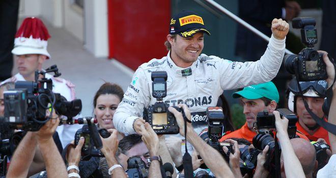 Nico Rosberg: Aiming to become a back-to-back Monaco winner