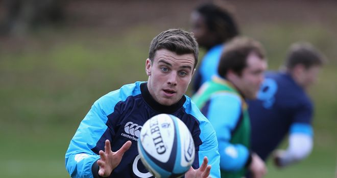 George Ford: Set to win his first senior England cap