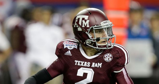 Johnny Manziel: Hoping to be selected by Houston Texans with No 1 pick
