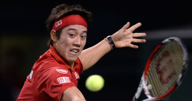 Kei Nishikori: Straight-sets winner in Memphis