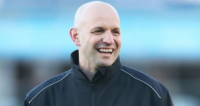 Jim Mallinder: His Northampton side will be seeking to record a ninth straight home win