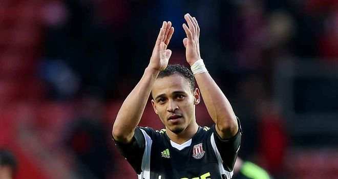 Peter Odemwingie: Scored his first goal for Stoke against Southampton
