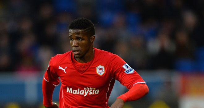 Wilfried Zaha: Cardiff's on-loan winger impressed on his debut
