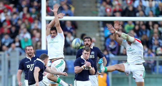 Duncan Weir: Scotland fly-half sends over the match-winning drop goal