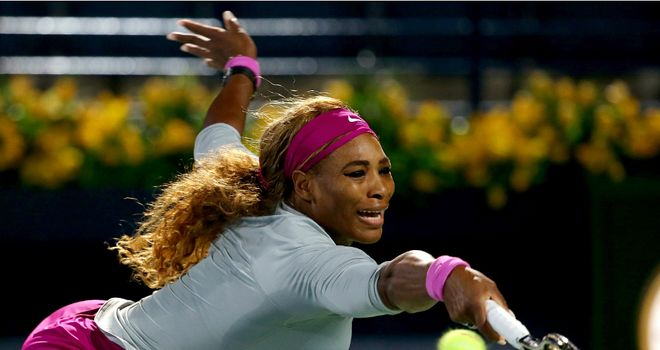 Serena Williams: Came back from a first set tie-break to cruise into round three