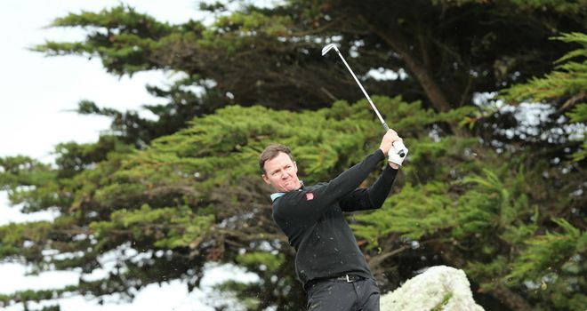 Jimmy Walker: Defied tough conditions to shoot a superb 67 on Saturday