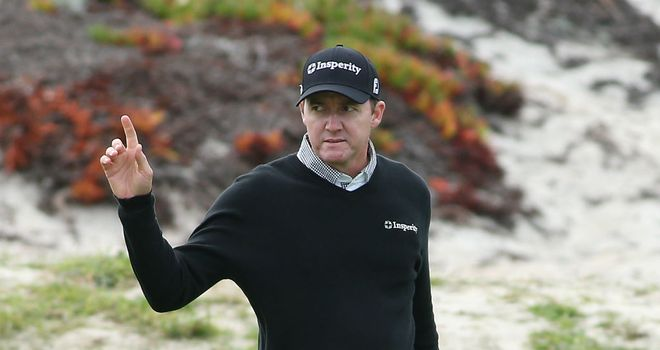 Jimmy Walker: Share of the halfway lead at Pebble Beach