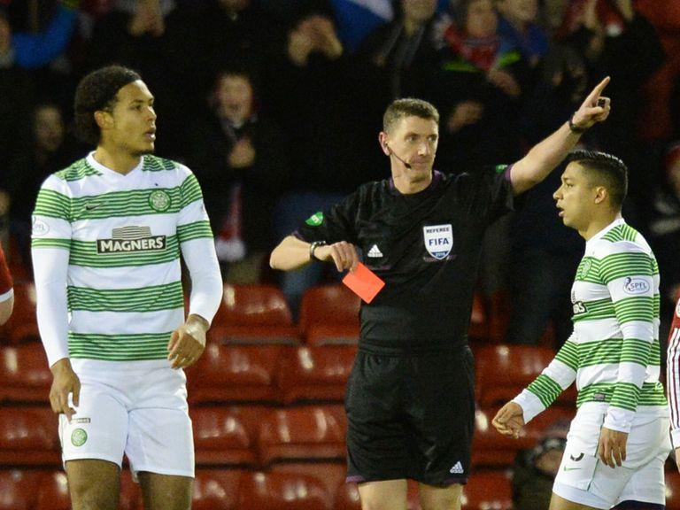Virgil van Dijk: His red card has been appealed