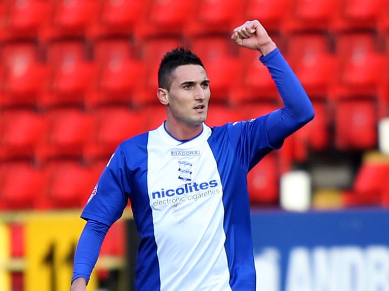 Federico Macheda at Birmingham