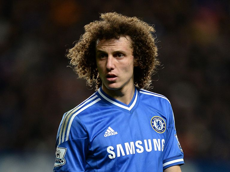 David Luiz: Welcomes pressure